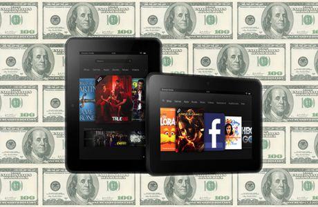La tablette Kindle Fire HD vous imposera directement sa publicité