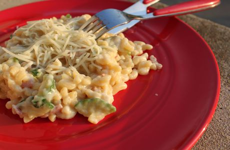 Risotto coquillettes (4 personnes)