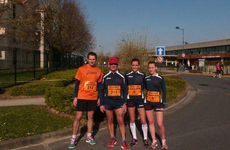 10km, Magny le Hongre, le 16/03/2014