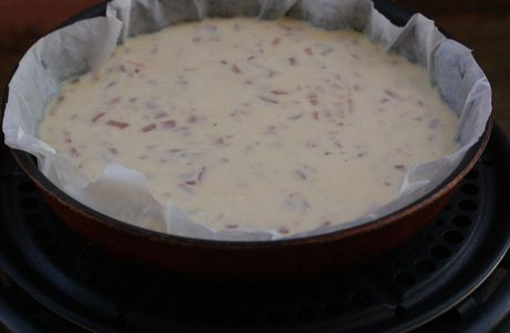 Quiche sans pate au barbecue (cobb)