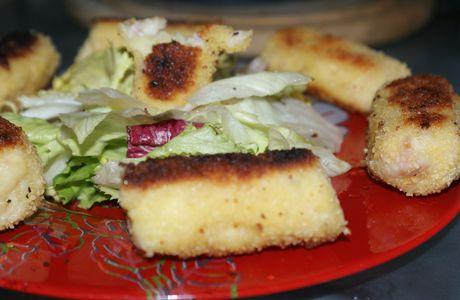 La ronde interblog est repassée par là : Croquette jambon/fromage