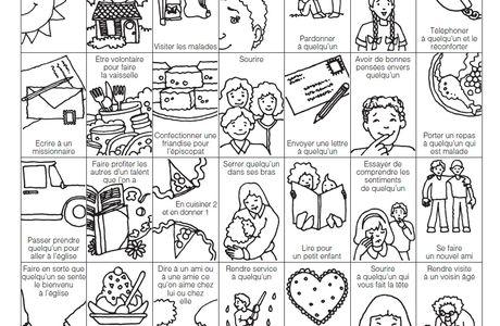 Aide leçons - Primaire 4 - Le livre de mormon un autre testament de Jésus-Christ (leçon pour Noël)