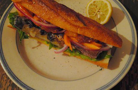 Sandwich de maquereau