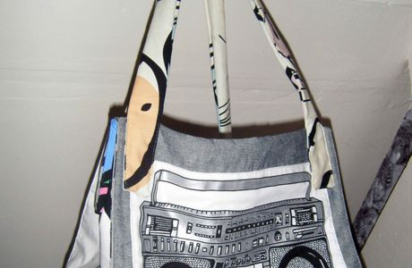 Grand sac Ghetto-Blaster chez Jennifleur
