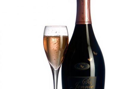 Bulles de luxe sans alcool !! Vive So Jennie !!!