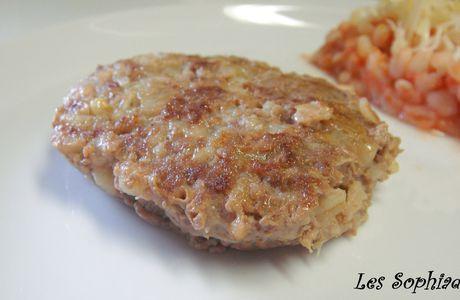 Palets de steak haché à l'Ebly®