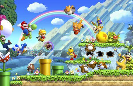New Super Mario Bros. U en images