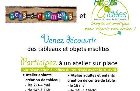 Atelier - Exposition - Invitation