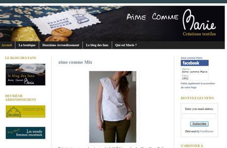 Aime comme .....