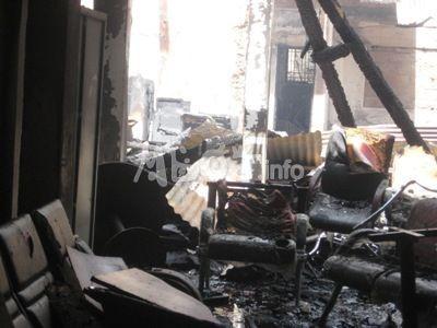 Incendie:12 boutiques décimées au marché Monkam