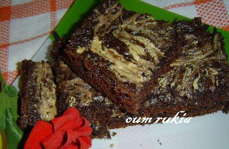 Brownies au chocolat et au beurre de cacahuètes