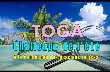 Challenge de l'été chez TOGA