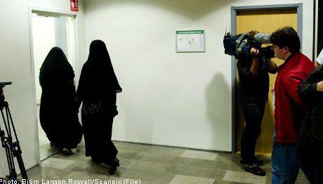 Suède : pas de niqab au tribunal