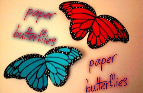 Picture of Paper butterflies...