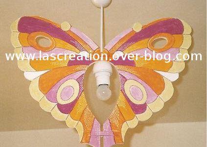 Lustre papillon Salomé