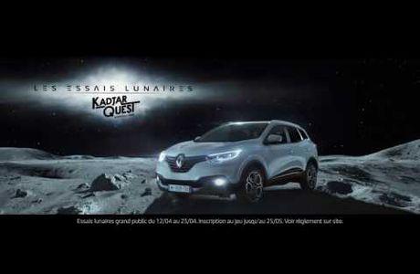Quand Renault Kadjar vous emmène sur la lune...