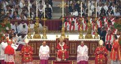 Benoît XVI, Homélie pour la Solennité des S....