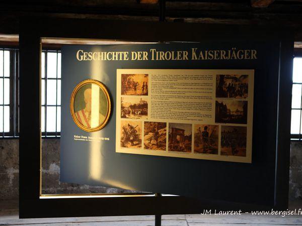 Le Festung de Kufstein et ses reflets ...