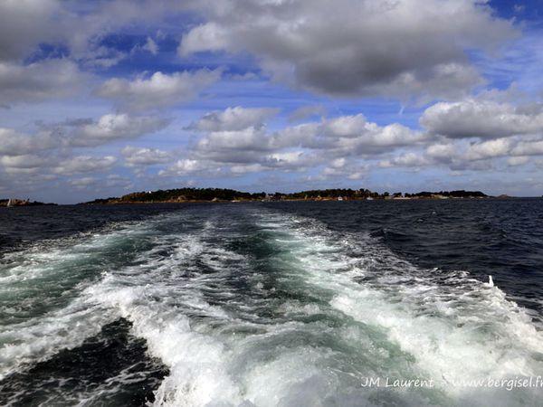 Ronde autour de l'île de Bréhat