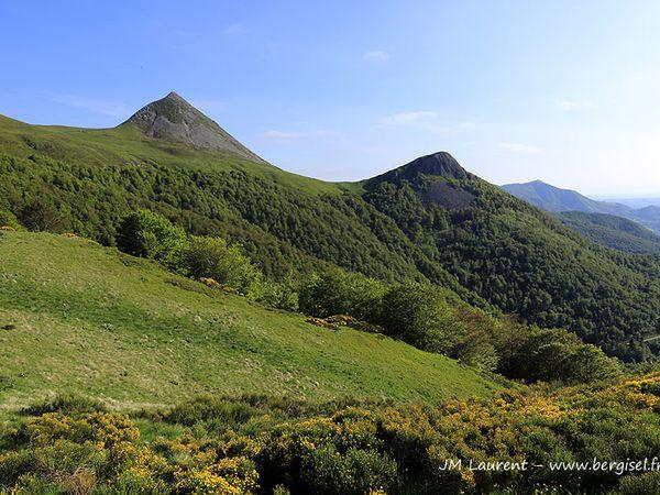 Transhumance entre Lot et volcan cantalien 2013 - Etape Mandailles Buron de Rombières.