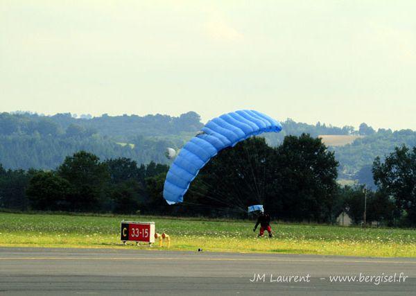 80ème anniversaire de l'aéroclub du Cantal à Aurillac.