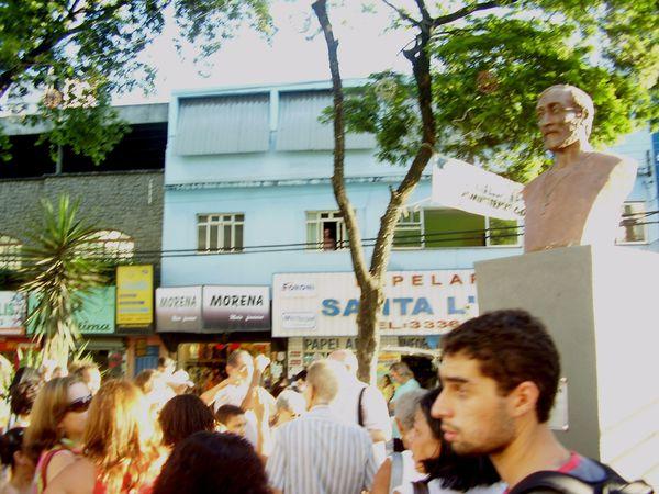 Inauguration du buste de Gaby (un clic sur image pour voir les photos en entier, et les faire défiler)