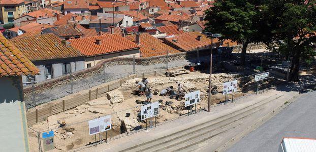 Découverte archéologique : la cathédrale primitive d'Elne