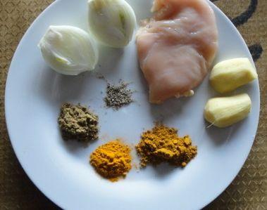 Cuisine ; poulet/gingembre/coco