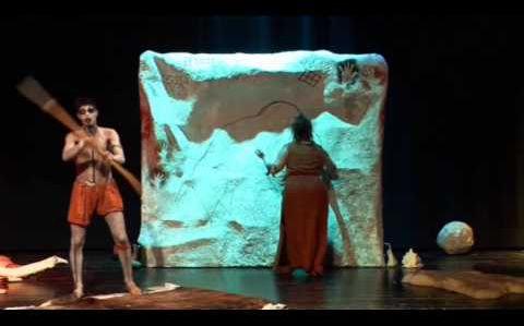 """L'or des cavernes """"Le message de nos ancêtres"""" Teaser spectacle Jeune Public"""
