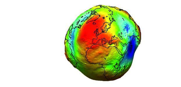 La Terre change sans cesse de forme - Sciencesetavenir.fr