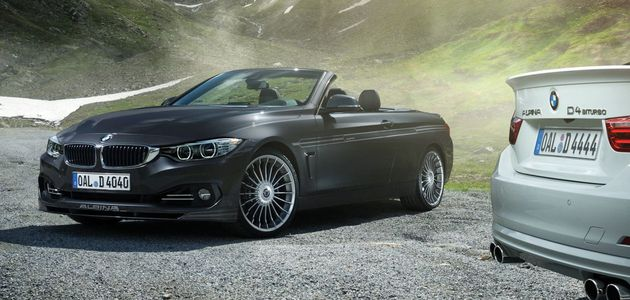 BMW B4 & D4 BI-TURBO CABRIO PAR ALPINA