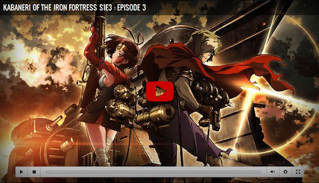 Kabaneri of the Iron Fortress Season 1 Episode 3 Episode 3