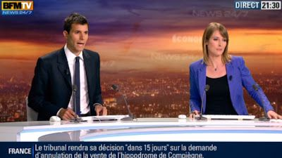 2013 05 24 - LUCIE NUTTIN - BFM TV - WEEK-END 360 @21H24