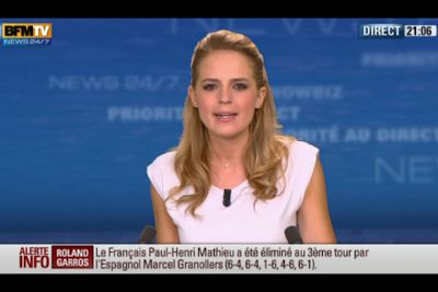 [2012 06 02] CLAIRE ARNOUX - BFM TV - WEEK-END 360 @21H34