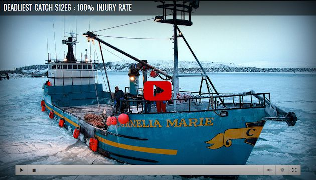 Deadliest Catch S12 : 100% Injury Rate