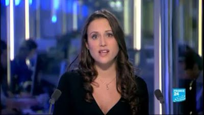 [2012 11 22] JESSICA LE MASURIER - FRANCE 24 en - THE NEWS @19H00
