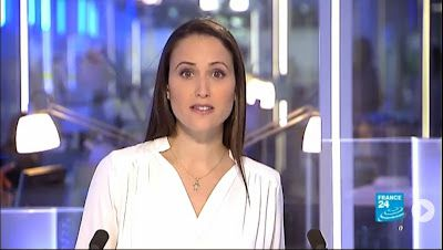 2013 06 11 - JESSICA LE MASURIER - FRANCE 24 EN - THE NEWS @17H00