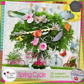 """ Spring cycle "" 100Drine"