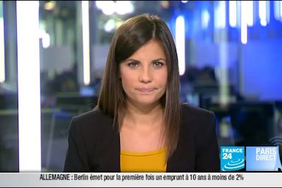 2011 09 22 @07H00 - ELISABETH ALLAIN - FRANCE24 - LE JOURNAL
