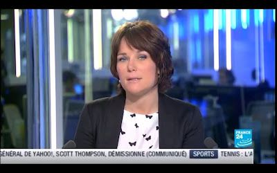 [2012 05 14] HELENE DROUET - FRANCE 24 - PARIS DIRECT @06H30