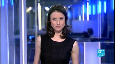 2013 01 28 - AUDE LECHRIST - FRANCE 24 - PARIS DIRECT @23H00