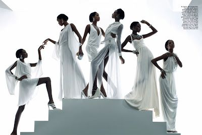 'The Rhythm Of Life' Marihenny Rivera & Shena Moulton by Pierpaolo Ferrari for Vogue Italia February 2012 [Editorial]