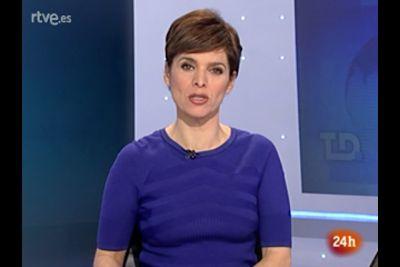 2012 01 11 @06H45 - SUSANA ROZA, TVE 24H, TELEDIARIO MATINAL