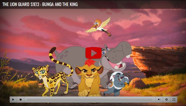 The Lion Guard Season 1 Episode 13 Bunga and the King