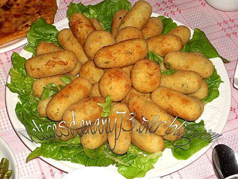 Croquettes de pommes de terre au surimi