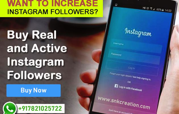 Buy instagram followers cheap india