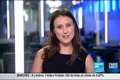 2011 09 22 @22H00 - AUDE LECHRIST - FRANCE24 - PARIS DIRECT