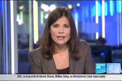 2012 01 11 @07H00 - ELISABETH ALLAIN, FRANCE 24, PARIS DIRECT