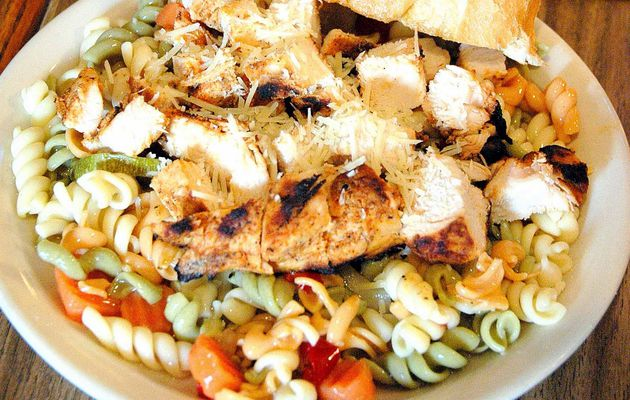 Grilled Chicken Pasta Salad Recipe