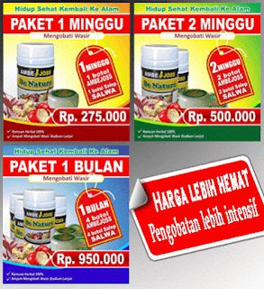 Obat herbal ambeien stadium 4